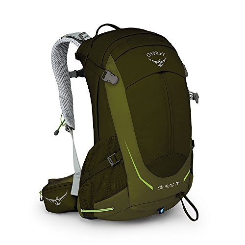 Osprey Daypack - Osprey Packs Stratos 24 Backpack, Gator green, o/s, One Size