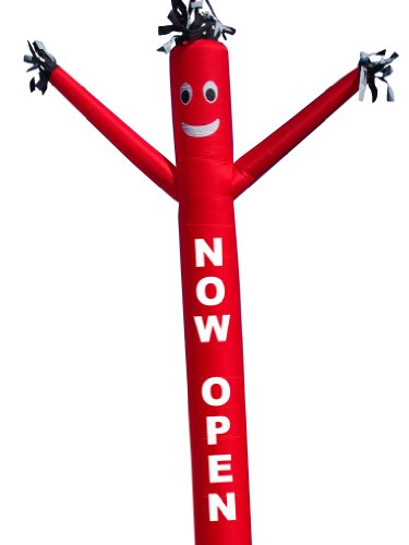 LookOurWay Air Dancer Fly Guy Inflatable with Lettering
