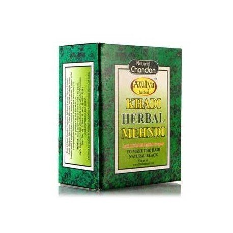 Khadi Herbal Black Mehndi - 100 ml (Pack of 4) by KHADI