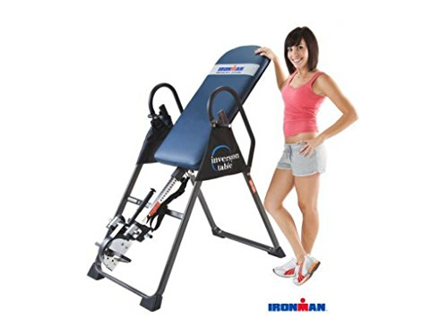 IRONMAN Gravity 4000 Highest Weight Capacity Exercise & Fitness Inversion Table
