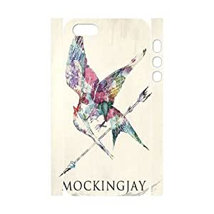 Unique Design Customized 3D Phone Case for iphone 4/4s iphone 4/4s, Case Cover with The Hunger Games Image WMJU-803176