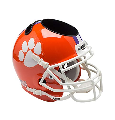 NCAA Clemson Tigers Mini Helmet Desk Caddy