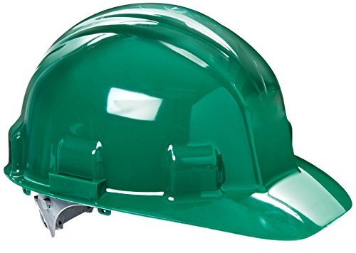 Jackson Safety 14413 Sentry III High Density Polyethylene Hard Hat with 6 Point Pinlock Suspension, Green (Pack of 12)