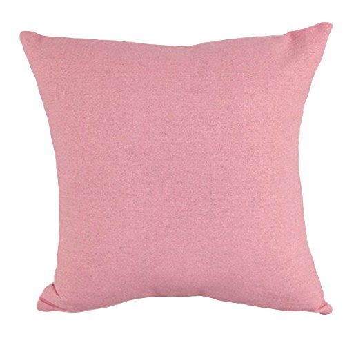 16' Decorative Throw Pillow - Solid Color Printed Stuffed Cushion LivebyCare Linen Viscose Filling Stuffing Throw Pillow Insert Filler Pattern Zipper For Hotel Decorative Decor Chair Sofa Couch