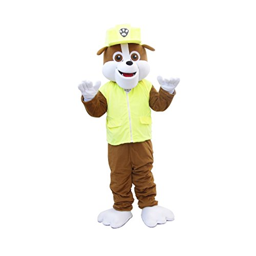 PAW Patrol Rubble Mascot Costume