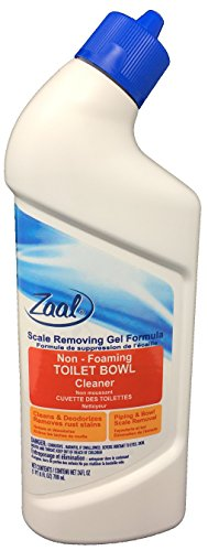 Zaal Scale Removing Gel Formula Non-Foaming Toilet Bowl Cleaner