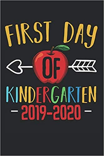 Amazon.com: First Day Of Kindergarten: Funny Pre-K Starting ...