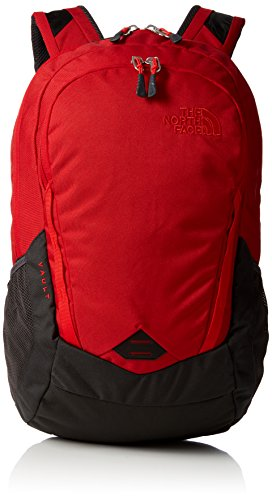Amazon.com: The North Face Vault Laptop Backpack- Sale Colors (Rage Red/Asphalt Grey): Computers & Accessories