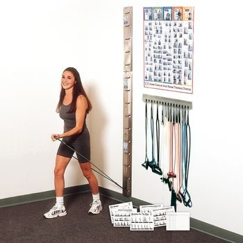 Preston Accessory - Storage Rack (For Web-Slide Exercise Rail Systems ) by Preston Inc