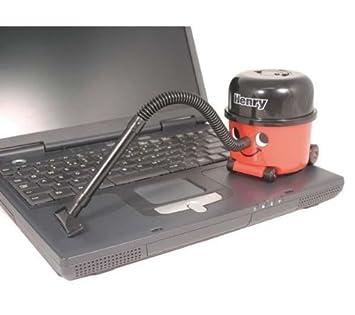 PALADONE Mini aspirador: Henry el aspirador + 12 pilas Pro Power LR06 (AA): Amazon.es: Juguetes y juegos