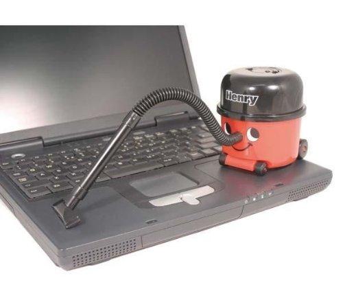 PALADONE Mini aspirador: Henry el aspirador + 12 pilas Pro Power ...