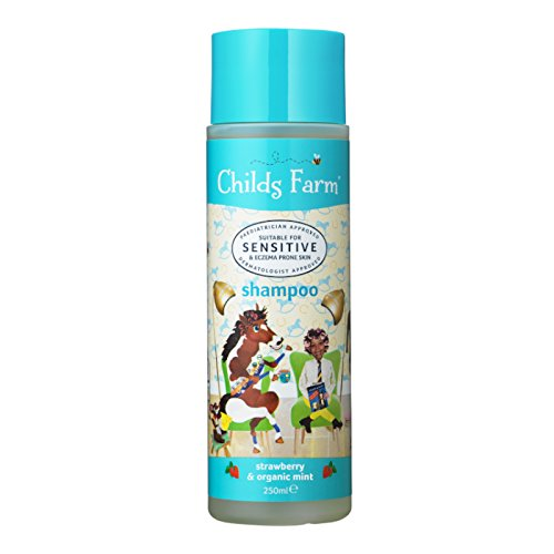 Childs Farm shampoo strawberry & organic mint 250ml Medichem CF100