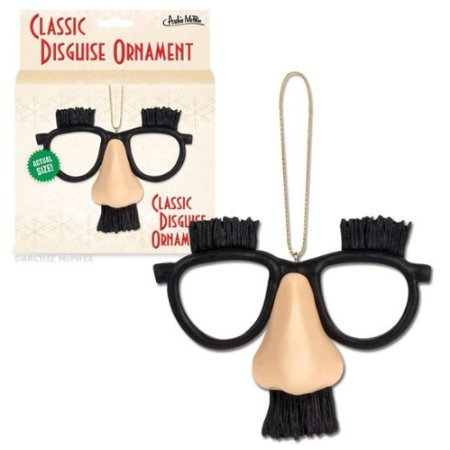 Classic Disguise Mustache Christmas ORNAMENT