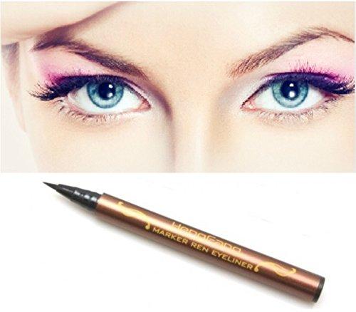 # 52101 Черный All Night Водонепроницаемый жидкий карандаш для глаз Smudge Proof Косметика Макияж