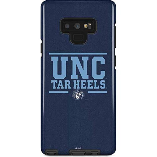 Skinit University of North Carolina Galaxy Note 9 Pro Case - UNC Tar Heels Design - High Gloss, Scratch Resistant Phone Cover -