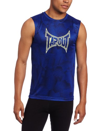 UPC 090878368630, TapouT Men's Stealth Muscle, Royal, X-Large