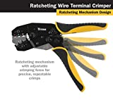 Titan 11477 Ratcheting Wire Terminal Crimper Tool