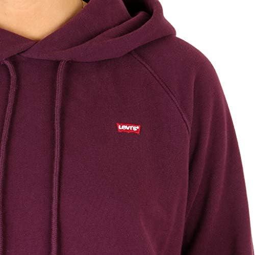 Levi's Womens Sportswear Hoodie Bordeaux
