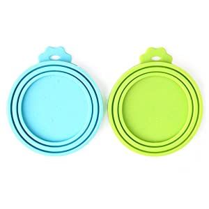 Comtim Pet Food Can Cover/Silicone Can Lids for Dog and Cat Food 11