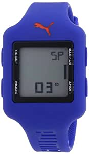 Puma A.PU910792005 - Reloj de mujer de cuarzo, correa de caucho color azul claro