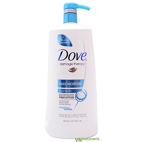 10 Pack Wholesale Lot Dove Intense Moisturizing Shampoo 40oz by SSW Wholesalers