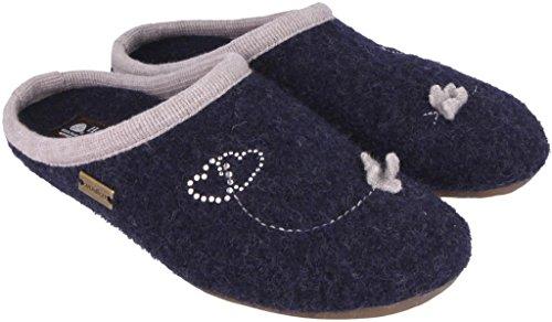Haflinger Farfalla Kapitan 36 Pantofole Donna 48310679