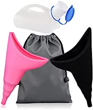 Female Urinal - Unisex Potty Urinal - Toliet Urinal for Men and Women, Portable Women Pee Funnel Urine Cup All