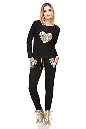 FUTURO FASHION - Pantalón de traje - para mujer: Amazon.es ...