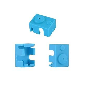 Funda de silicona para calcetines de impresora 3D para V6 PT100 ...