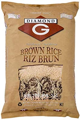 Brown Rice 15lb by Diamond G Brown Rice