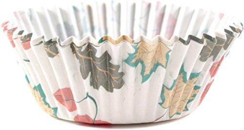 Fox Run 6920 Fall Leaves Bake Cups, Standard, 50 (Autumn Cupcake Liners)