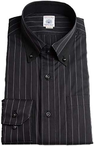 【MARUTOMI】ドレスシャツ メンズ 日本製 綿100% カラーシャツ 長袖 ワイシャツ ダークカラー モード パーティー 2次会 ドレッシー おしゃれ ブラック 紺 青 パープル ND-BD04