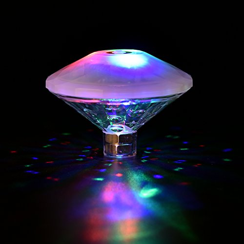 Floating Disco Underwater Led Light Show - 1