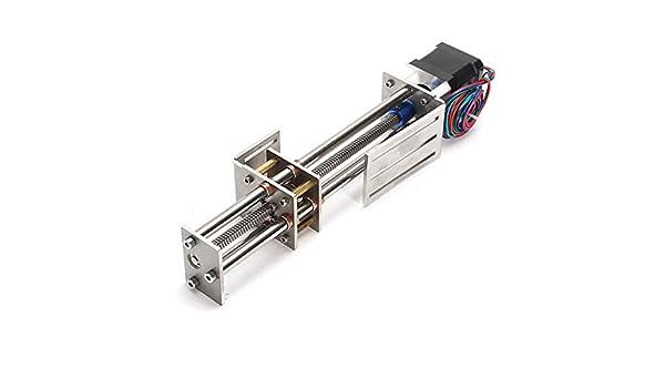 ChaRLes Mini Cnc Z Axis Slide Trazo Lineal Etapa 150Mm Movimiento Lineal Para 3 Ejes Máquina De Grabado: Amazon.es: Bricolaje y herramientas