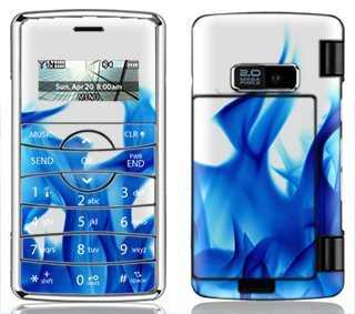 Ice Flame Skin for LG enV2 enV 2 Phone