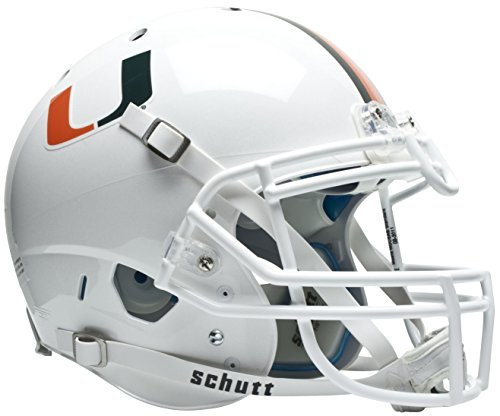NCAA Miami Hurricanes Authentic XP Football Helmet by Schutt