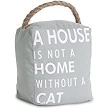 Pavilion Gift Company 72155 Cat Door Stopper, 5 by 6-Inch
