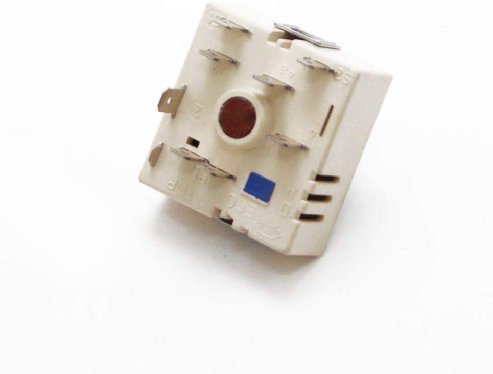 KitchenAid Whirlpool Cooktop Range Large Burner Control Switch USED Part Purple