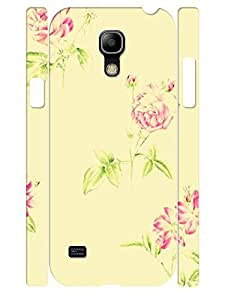 Beautiful Drawing Rose 3D Print Eco TPU Phone Dust Proof Case Skin for Samsung Galaxy S4 Mini I9195