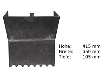 Rückwand Für Kamin  / Heiz   Einsatz Kago Garanta 600   603