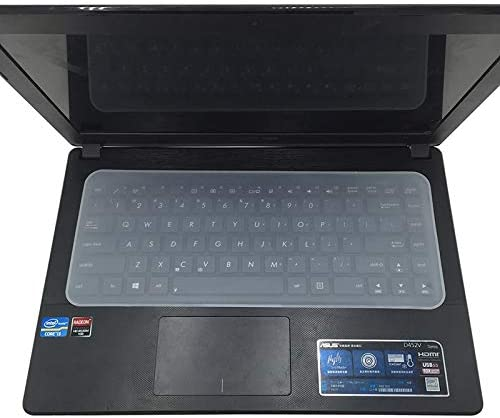 Value-Trade-Inc 1pc Clear Protector Cover Universal Laptop Silicone Keyboard Skin for 13141517