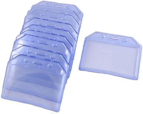 Amazon.com : edealmax bureau effacer nom en plastique bleu