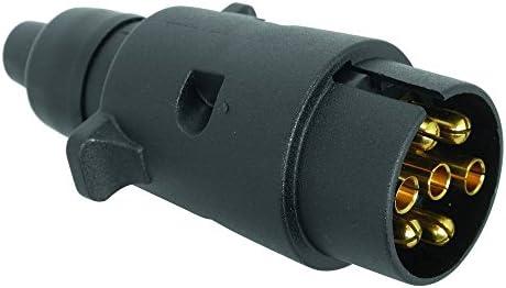 RING AUTOMOTIVE CPT0429505 Carpoint  Trailerplug 7-Pole Metal