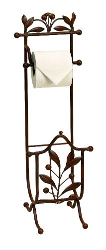 Deco 79 Metal Toilet Paper Holder, 27 by 9-Inch Deco Toilet