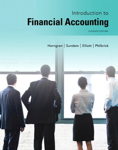 Introduction to Financial Accounting Plus NEW MyLab Accounting with Pearson eText -- Access Card Package (11th Edition)