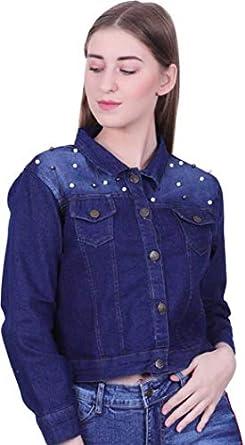Abdullha Garment Women's Distress Regular Jacket