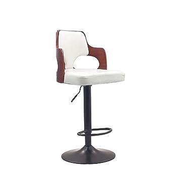 Iron Bar Stool Modern Minimalist High Stool Bar Chair Lift Bar Stool Home Back Stool Nordic Bar Chair Bar Furniture