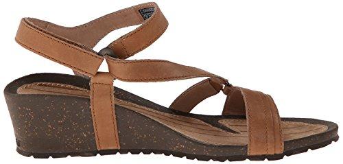 Teva Woman Sandals Cabrillo Crossover Wedge Tan Broncearse
