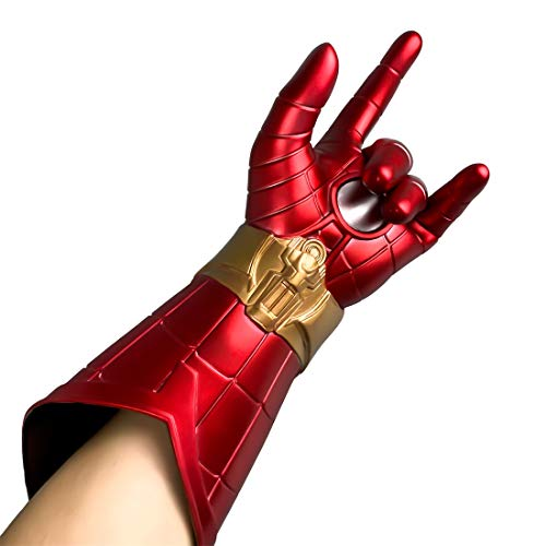 XXF Spider-Man Homecoming Gauntlet, Spider-Man Far from Gloves, Spider Man Gauntlet Cosplay Left Hand (1pc)