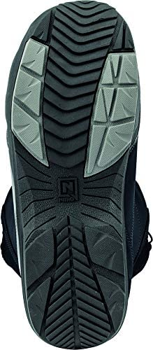 Black Nitro Snowboards Mens Vagabond TLS 20 All Mountain Freestyle Speed Lacing System Low Cost Boot Snowboard Boat 25.0